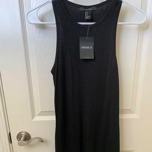 Forever 21 Black Tank Dress